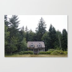 Woodland Cottage Canvas Print