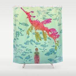 Gigantic Shower Curtain