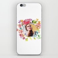 lydia martin iPhone & iPod Skins featuring queen lydia martin by churity