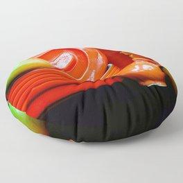 Curvy-linear Floor Pillow