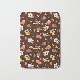 Mud Bomb Bath Mat