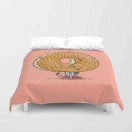 Nerd Donut Duvet Cover