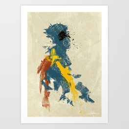 Untitled_02 Art Print