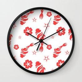 Beautiful Fish Pattern Wall Clock