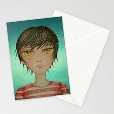 A boy Stationery Cards