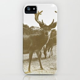 Deer Family iPhone Case