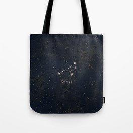 Virgo - Rose Gold Tote Bag
