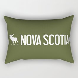 Nova Scotia Moose Rectangular Pillow