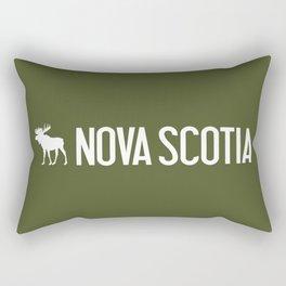 Nova Scotia Moose Rectangular Pillow