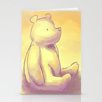 pooh Stationery Cards featuring Pooh Bear by Jennifer Kathryn Lee