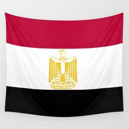Egypt flag emblem Wall Tapestry