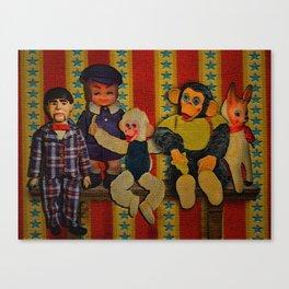 Frightening Haunted Canvas Print