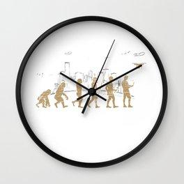 Drone Evolution Wall Clock