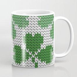 Shamrock pattern St Patrick Coffee Mug