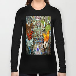 Butterfly in Cappella Sistina SistineChapel Long Sleeve T-shirt