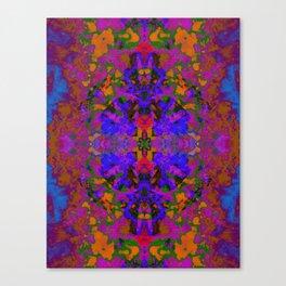 Psychedelic Mush Canvas Print