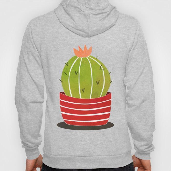 A cactus in a pot Hoody