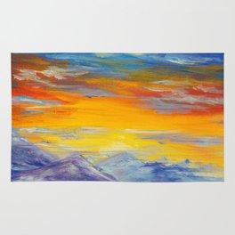 Sunset Meditations of Peace by Ainé Daveéd Rug