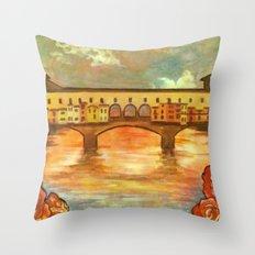 Ponte Nouveau Throw Pillow