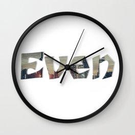 Even Wall Clock