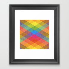 Hysteria en la Primavera. Framed Art Print