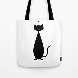 cat ! Tote Bag