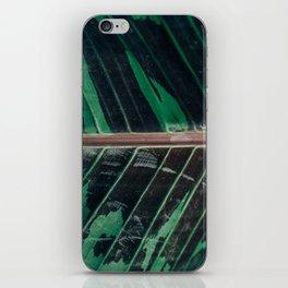 Camo Leaf in Full Frame iPhone Skin