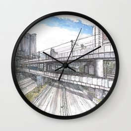 Hong Kong Highway Wall Clock