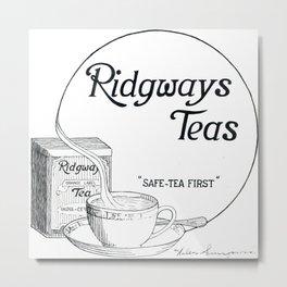 Ridgway Teas Metal Print