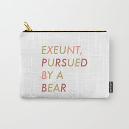 Shakespeare - The Winter's Tale - Exeunt Exit Pursued by a Bear Carry-All Pouch