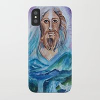 jesus iPhone & iPod Cases featuring Jesus by gretzky