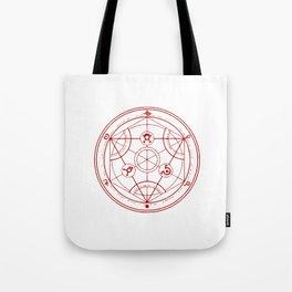 Alchemist Circle - Full Metal Tote Bag