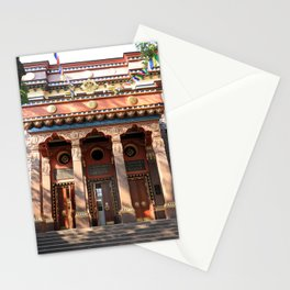 Main Entrance. Buddhist traditional sangha of Russia. Stationery Cards