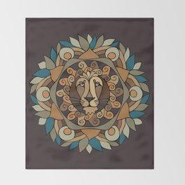 MandaLion Throw Blanket