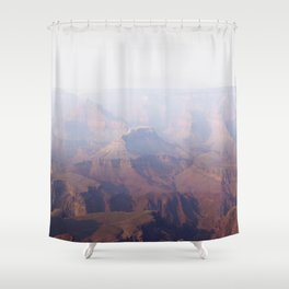 Smoky Hazy Days in the Grand Canyon Shower Curtain