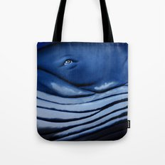 blue giant of the ocean Tote Bag