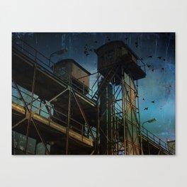 Urban past Canvas Print