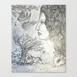 Chainless Soul Canvas Print