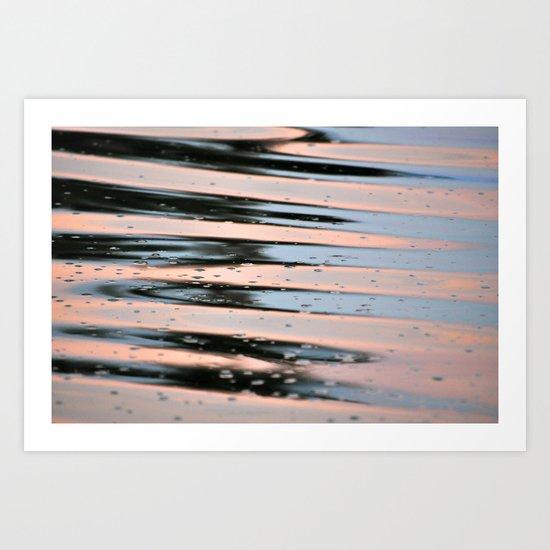 Rippled Waters    Art Print