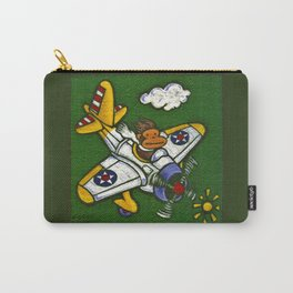 Airplane Ape Carry-All Pouch