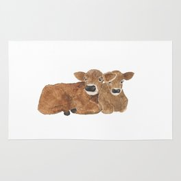 Baby Cows Rug