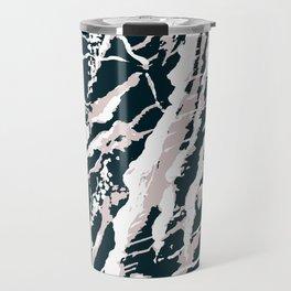 Rose Blue Travel Mug