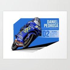 Daniele Pedrosa - 2002 Valencia Art Print