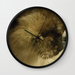 Birman Cat Wall Clock
