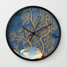 Deep Delight Wall Clock