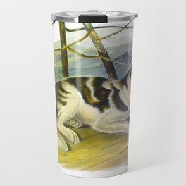 Hare-Indian Dog Travel Mug