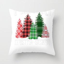 VSCO Christmas Merry Chri sksksks mas Throw Pillow