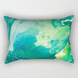 Environmental Importance, Deep Sea Water Bubbles Rectangular Pillow