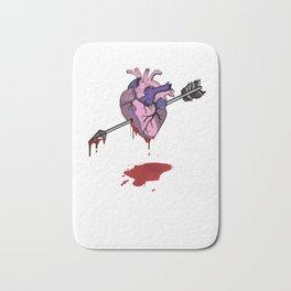 Valentine Day Gift Idea Shirt for Couples BF & GF Light Bath Mat