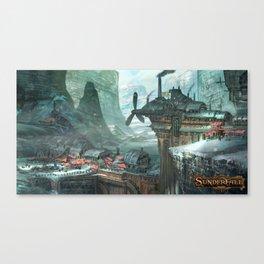 SunderFall: Galbourne Ridge Canvas Print
